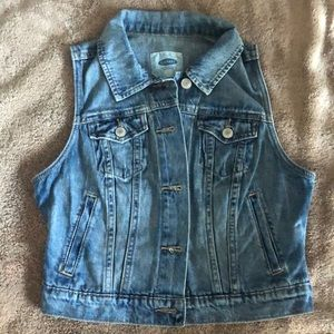 Jean vest from Old Navy